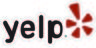 Yelp logo linked to review site